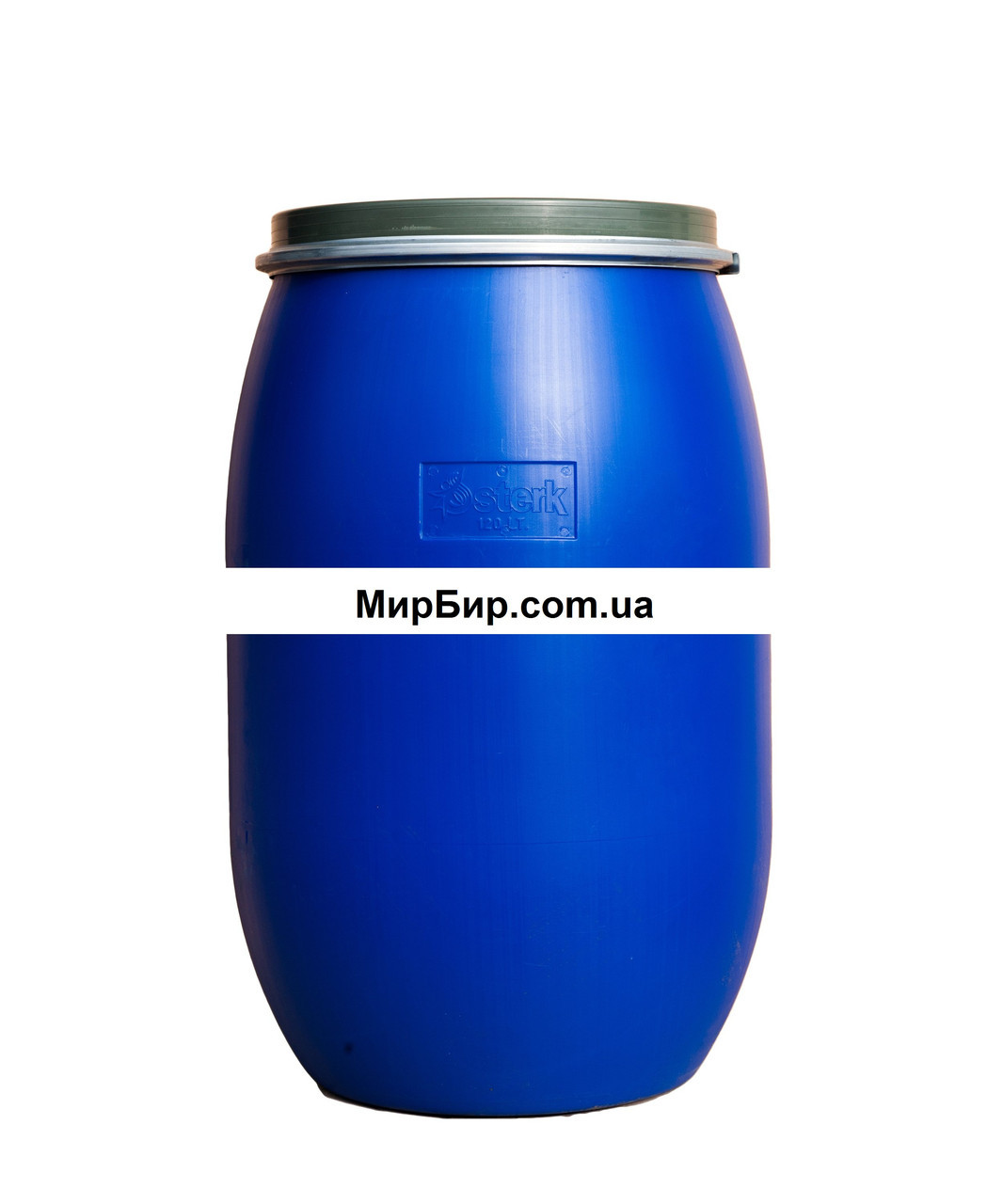 Бочка с зажимом, 120 литров