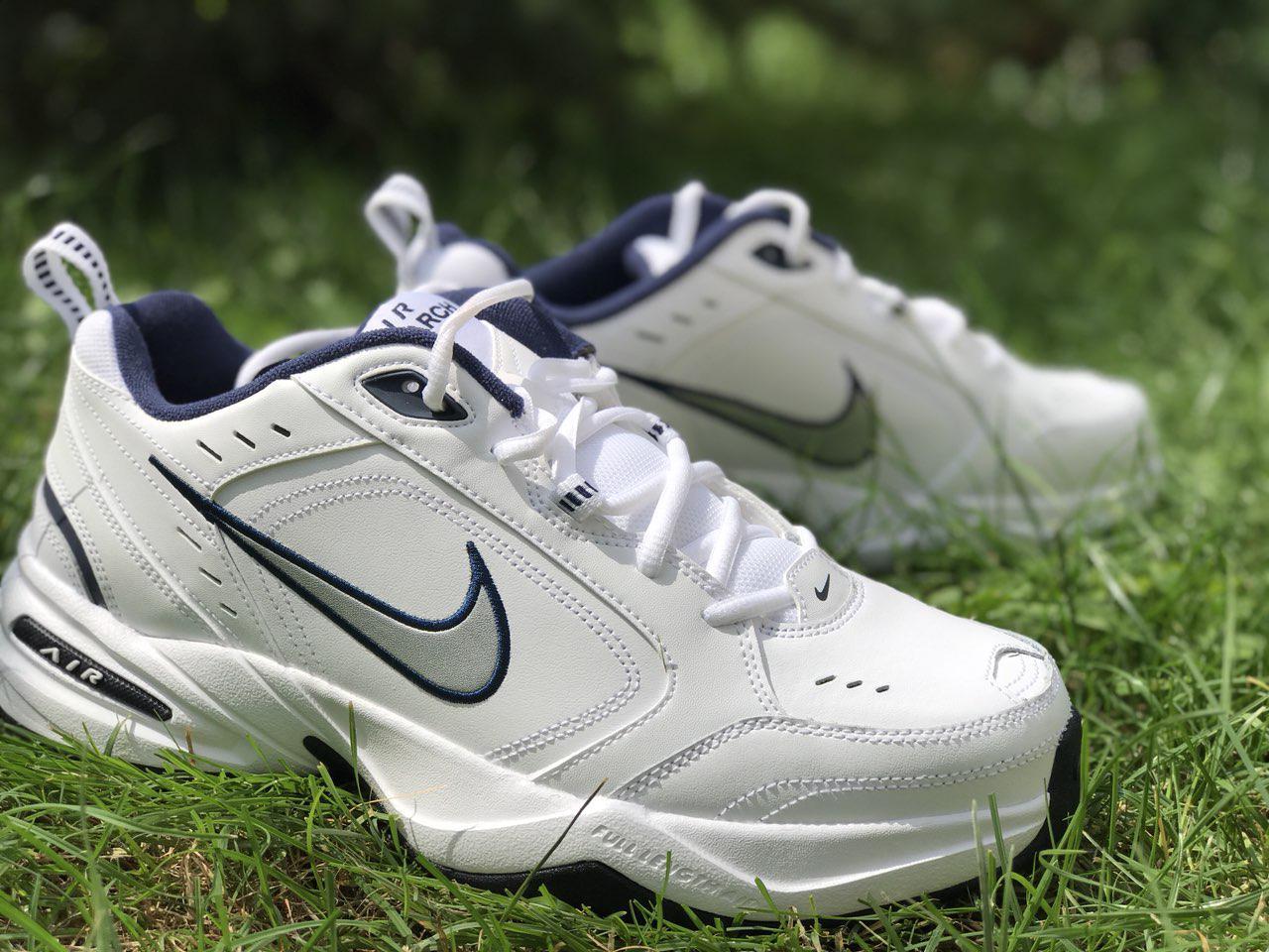 6455e94764ba Оригинальные мужские кроссовки Nike Air Monarch IV White - Sport-Boots -  Только оригинальные товары