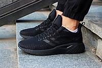 Летние черные мужские кроссовки Adidas Questar ClimaCool DB1157