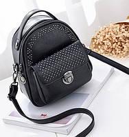Рюкзак женский трансформер ENLIAN Черный, фото 1