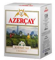 Азерчай зеленый с соцветиями жасмина 100 грм