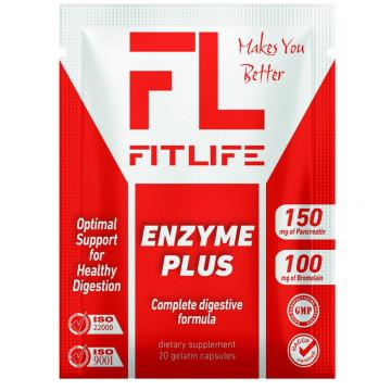 Ензим FitLife Enzyme Plus 20 caps