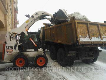 Расчистка снега и вывоз льда