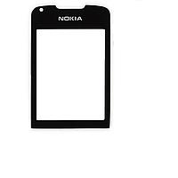 Стекло для Nokia 8800 Arte, цвет черный, не тонированное