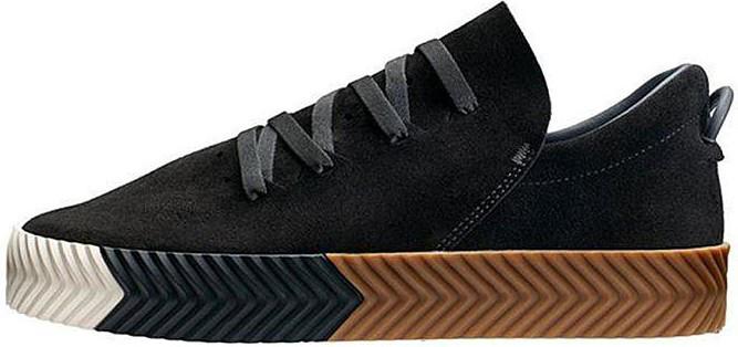 """Женские кроссовки adidas x Alexander Wang """"Black/Brown/White"""" (Адидас) черные"""