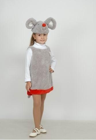 Карнавальный Костюм Мышка (Китай) для девочки