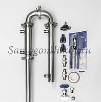 Дистиллятор Сан Саныч «Медиум» СС-2 PRO. С царгой 50 см, кожухотрубный дефлегматор.
