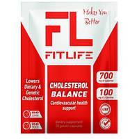 Уменьшение холестерина FitLife Cholesterol Balance 20 caps