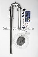 Дистиллятор Сан Саныч «Мега-Хард» СС-3.С царгой 70 см, дефлегматор рубашечного типа, фото 1