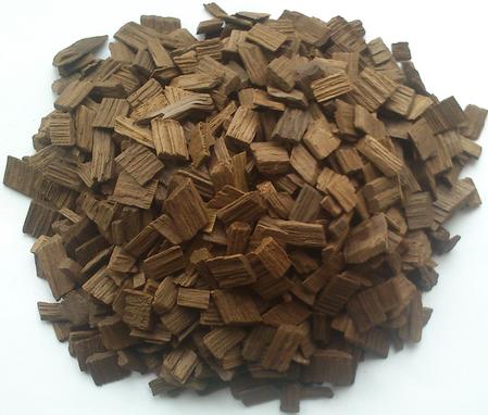 Дубовые чипсы (средний+сильный обжиг) на 10 литров напитка, 50гр