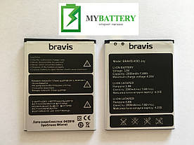 Оригинальный аккумулятор АКБ батарея Bravis A503 Joy Li-ion 3.8V 2000mAh