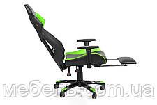 Игровое кресло геймерское Barsky BGM-07 черно-зелёное, фото 3