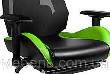 Игровое кресло геймерское Barsky BGM-07 черно-зелёное, фото 2