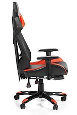 Игровое кресло геймерское Barsky BGM-08 черно-оранжевое, фото 3