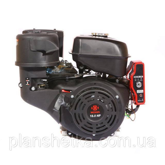 Двигатель Weima WM192FЕ-S New (шпонка, бензин 18 л.с., электростартер)
