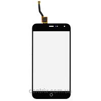 Тачскрин (сенсор) для Meizu M1, черный