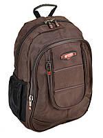 Коричневый городской рюкзак 8821 coffee