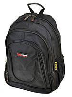 Городской рюкзак из нейлона 8824 black