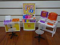 """Мебель """"Gloria"""" 21022  для компьютерного класса"""