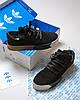 """Мужские кроссовки adidas x Alexander Wang """"Black/Brown/White"""" (Адидас) черные, фото 3"""