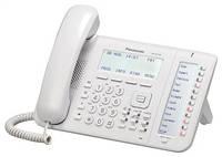 Дротовий IP-телефон Panasonic KX-NT556RU White для АТС Panasonic KX-TDE/NCP/NS