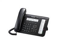 Дротовий IP-телефон Panasonic KX-NT553RU-B Black для АТС Panasonic KX-TDE/NCP/NS