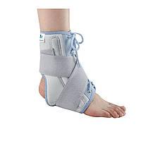 Бандаж на голень с затяжками и ребрами жесткости Wellcare 62020