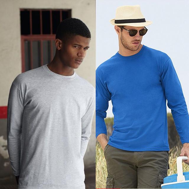 c42c90e149365 Мужская футболка длинный рукав 100% хлопок 61-038-0 - самая низкая ...