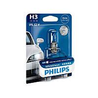 Галогенная лампа Philips WhiteVision H3 12V 12336WHVB1 (1шт.)
