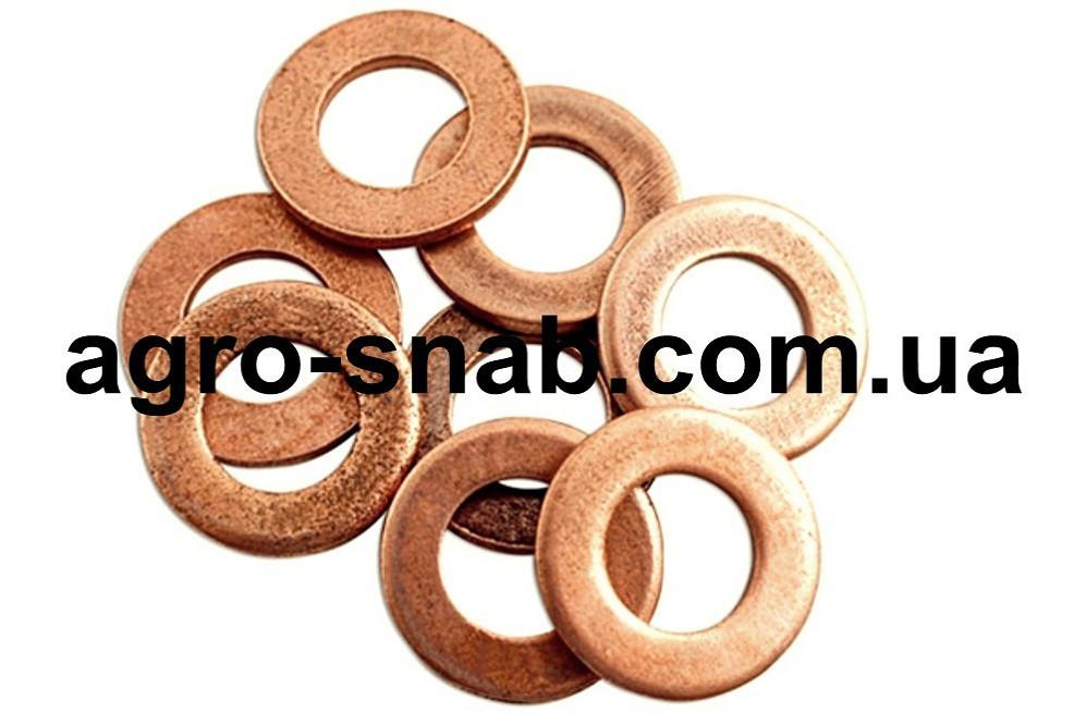 Шайба (уплотнительная) медная 11х17х1,0 (Упаковка - 100 шт.)
