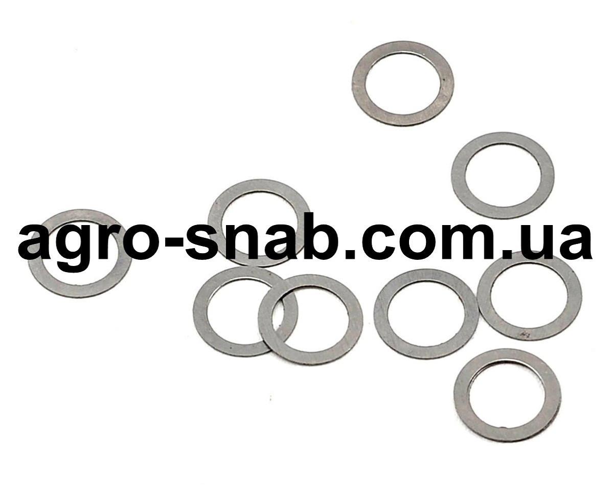 Шайба (уплотнительная) алюминиевая: 15х20х0,5  (Упаковка - 100 шт.)