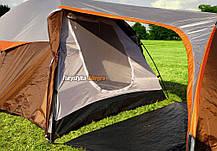 Палатка туристическая Abarqs Vigo 3, 3000 мм, тамбур, фото 3