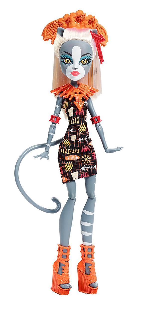Кукла Монстер Хай Мяулодия Монстры на отдыхе Monster High Ghouls' Getaway Meowledy