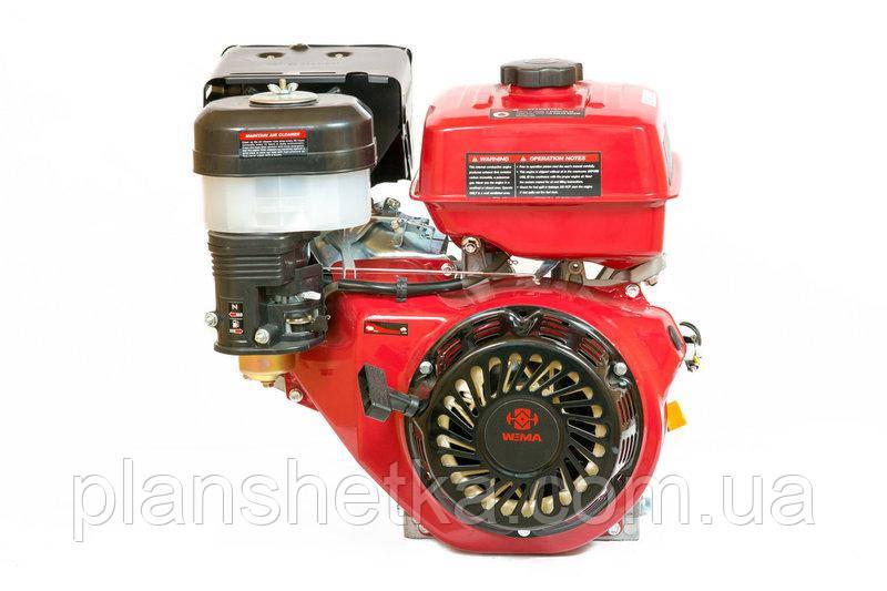 Бензиновый двигатель Weima WM177F-T (вал 25 мм, шлицы, для WM1100 , 9 л.с.)