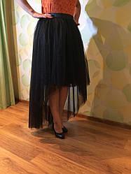 """Юбка женская из качественной евросетки, с подкладом из атласа. Комплекты """"Мама+дочка"""".Любая длина и цвет."""