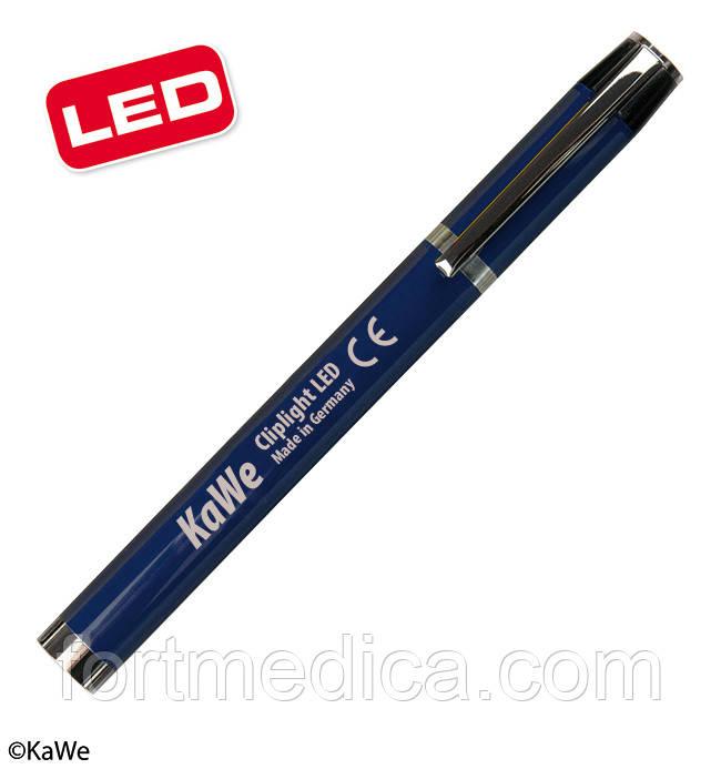 Фонарик диагностический Клиплайт LED, синий KaWe