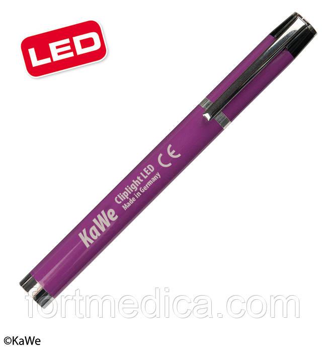 Фонарик диагностический Клиплайт LED, фиолетовый KaWe