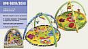 Развивающий коврик 898-302В/307B/308B с погремушками+зеркало (в ассортименте), фото 3