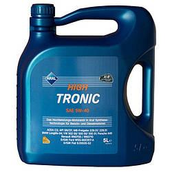 Моторное масло Aral 20635 High Tronic 5W-40 Low-SAPS 5 литров