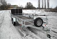 Прицеп для перевозки 2-х квадроциклов