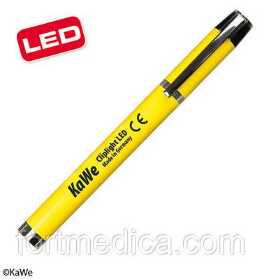 Фонарик диагностический Клиплайт LED, желтый KaWe