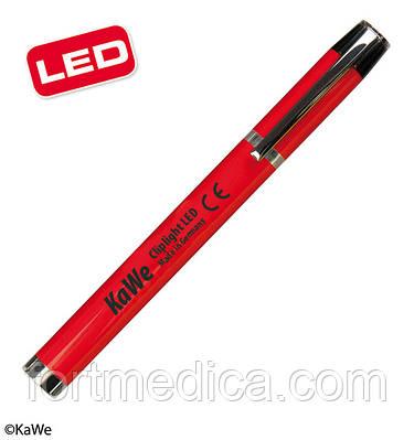 Фонарик диагностический Клиплайт LED, красный KaWe