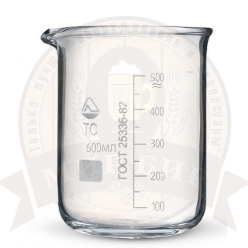 Стакан мерный стеклянный 600 мл.