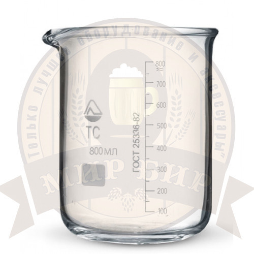 Стакан мерный стеклянный 800 мл.