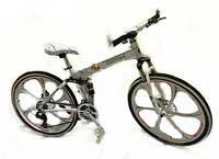 Крутой электронный велосипед BMW BRAND BIKE FOLDABLE складной с электромотором 350 Вт