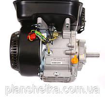 Двигатель Weima BT170F-L с редуктором (шпонка, вал 20 мм, 1800 об/мин), бензин 7.5 л.с., фото 3