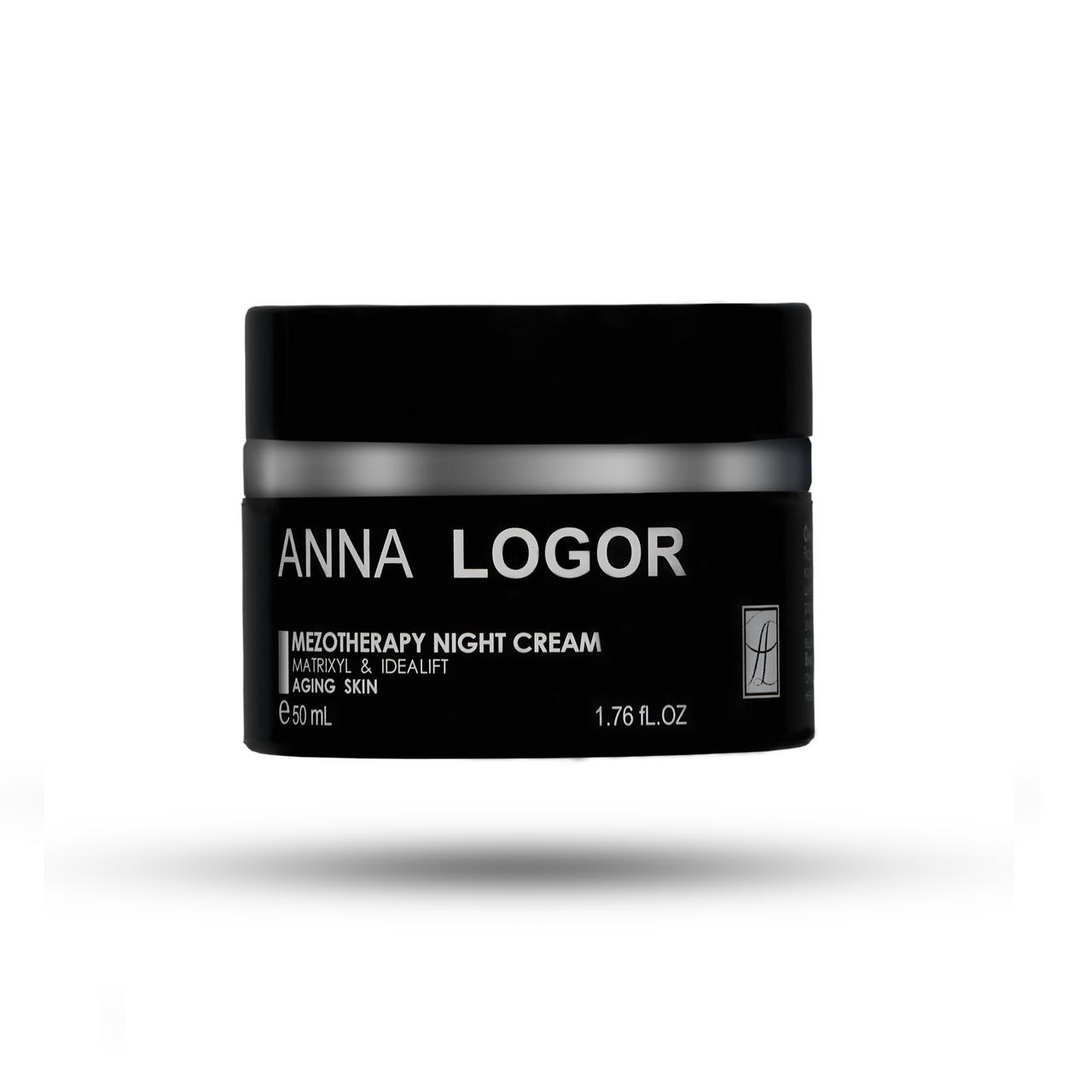 Омолоджуючий нічний крем Анна Логор / Anna Logor Mezotherapy Night Crem 50ml Код 504