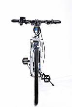 Крутой электронный велосипед BMW BRAND BIKE FOLDABLE складной с электромотором 350 Вт Синий