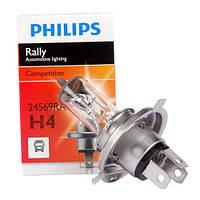 Галогенная лампа Philips H4 Rally 12V 12569RAC1 (1шт.)
