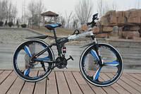 Складной электровелосипед BMW BRAND BIKE FOLDABLE с литими ободами мощность 500Вт Черный